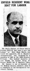 EG 3 Aug 1945 Daines